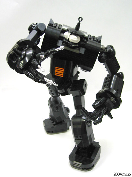 Black King Robot