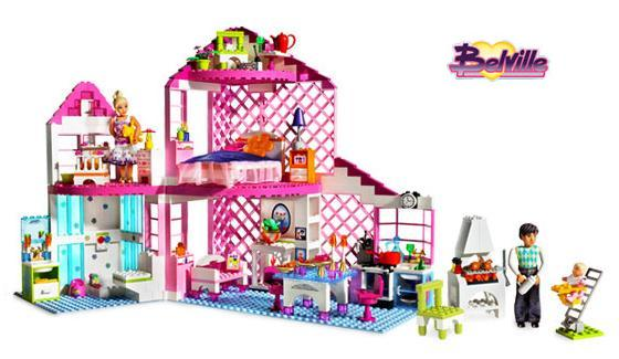 Sunshine Home - Lego Belville