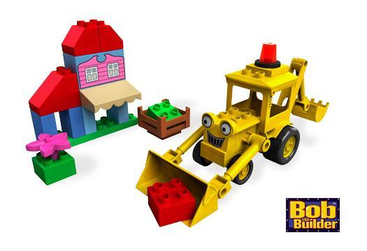 Koparka Scoop (Lego Bob Budowniczy)