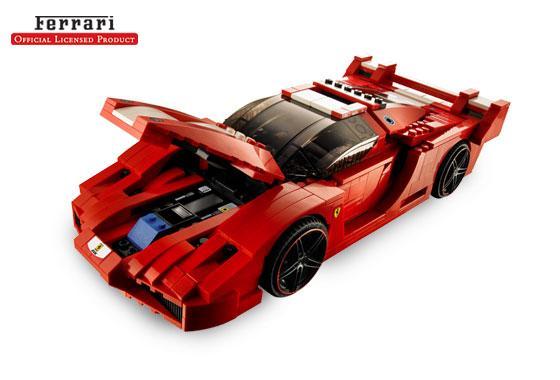 Ferrari FXX 1:17 (Lego Ferrari)