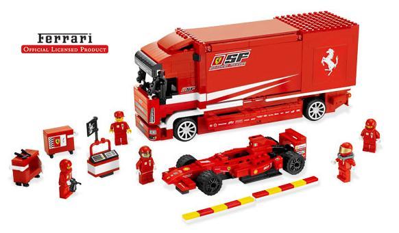 Ferrari Truck - Lego