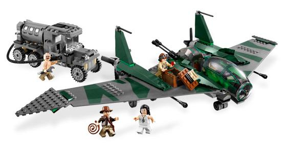 Lego: Indiana Jones - Fight on the Flying Wing