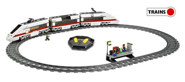 Pociąg osobowy (Lego Trains)