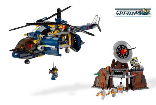Helikopter Obrony Powietrznej (LEGO Agents)