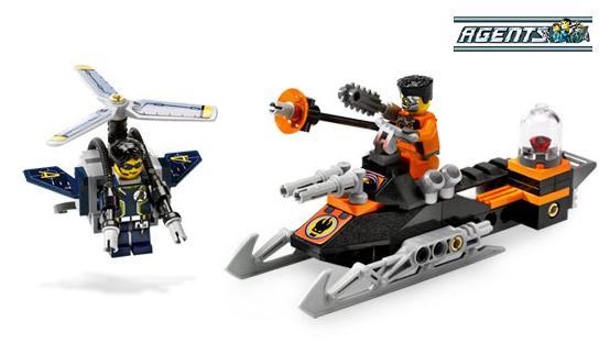 Pościg Jetpack (LEGO Agents)