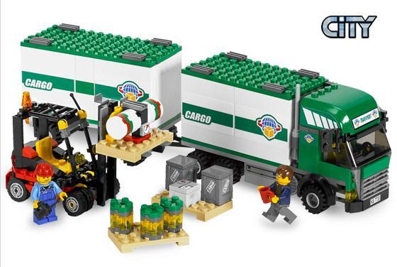 Ciężarówka i wózek widłowy (LEGO City)