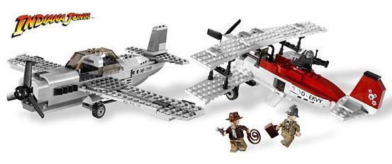 Powietrzny pojedynek (LEGO Indiana Jones - Fighter Plane Attack)