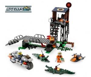Akcja na bagnach (LEGO Agents)
