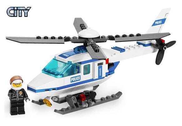 Helikopter policyjny (LEGO City)