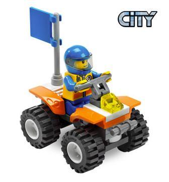 Quad Straży przybrzeżnej (LEGO City)