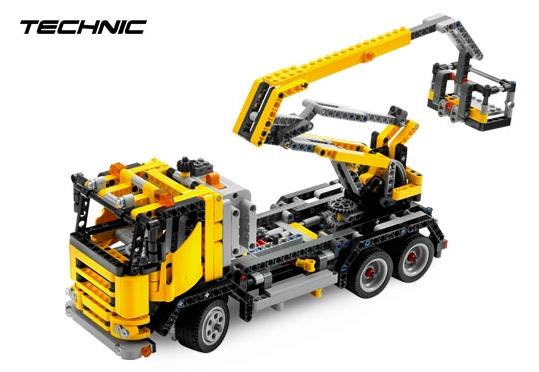 Ciężarówka z wysięgnikiem (LEGO Technic)