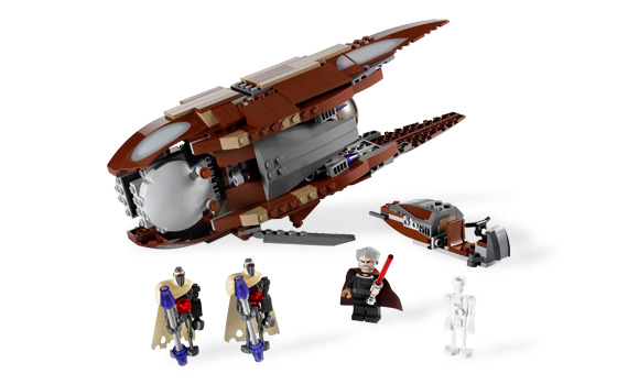 Star Wars: Count Dooku`'s Solar Sailer sailer