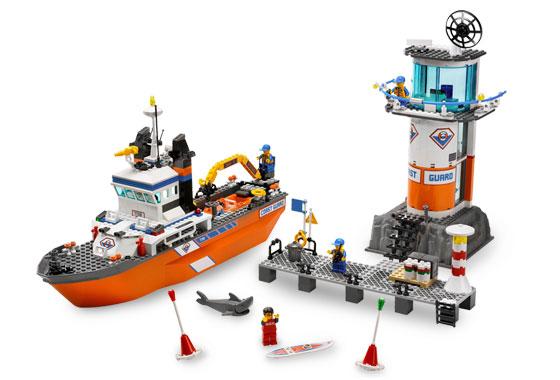 Statek patrolowy i wieża wieza